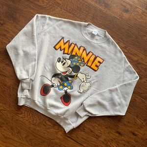 Vintage 90's Minnie Mouse Crewneck